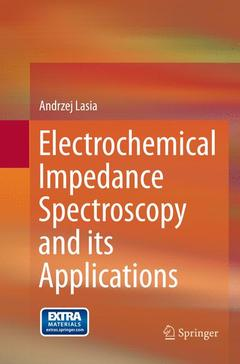 Couverture de l'ouvrage Electrochemical Impedance Spectroscopy and its Applications