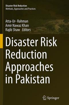 Couverture de l'ouvrage Disaster Risk Reduction Approaches in Pakistan