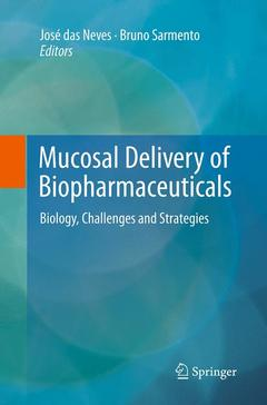Couverture de l'ouvrage Mucosal Delivery of Biopharmaceuticals