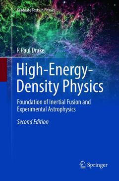 Cover of the book High-Energy-Density Physics