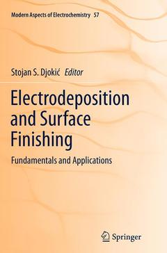 Cover of the book Electrodeposition and Surface Finishing