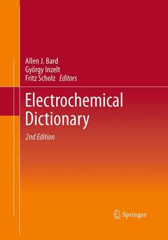 Cover of the book Electrochemical dictionary
