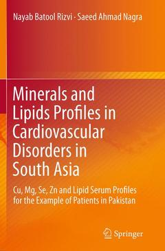 Cover of the book Minerals and Lipids Profiles in Cardiovascular Disorders in South Asia