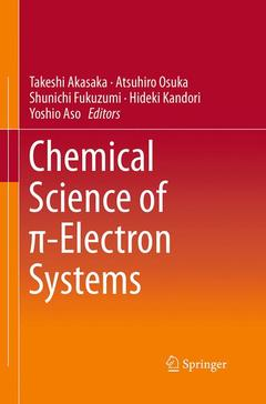 Couverture de l'ouvrage Chemical Science of pi-Electron Systems
