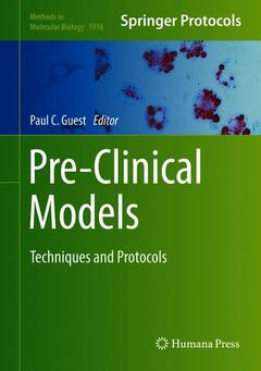 Cover of the book Pre-Clinical Models