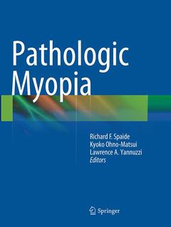 Couverture de l'ouvrage Pathological Myopia