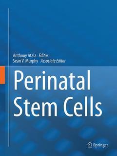 Couverture de l'ouvrage Perinatal Stem Cells