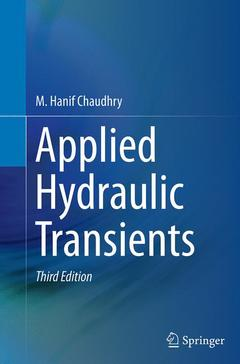 Couverture de l'ouvrage Applied Hydraulic Transients