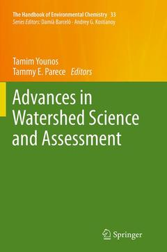 Couverture de l'ouvrage Advances in Watershed Science and Assessment
