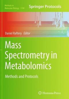 Cover of the book Mass Spectrometry in Metabolomics