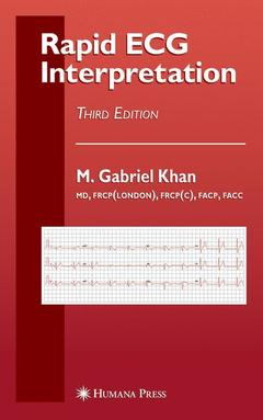 Couverture de l'ouvrage Rapid ECG interpretation (Contemporary cardiology) (3rd Ed)