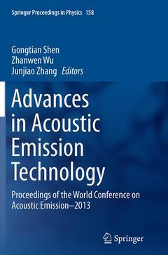 Couverture de l'ouvrage Advances in Acoustic Emission Technology