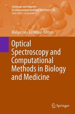 Couverture de l'ouvrage Optical Spectroscopy and Computational Methods in Biology and Medicine