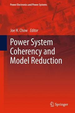 Couverture de l'ouvrage Coherency and model reduction of large power systems