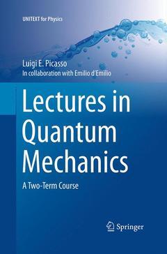 Couverture de l'ouvrage Lectures in Quantum Mechanics
