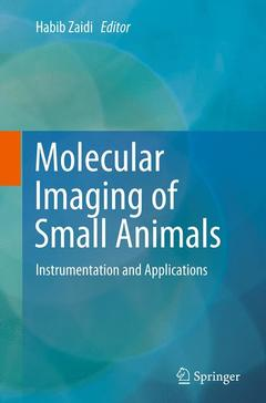 Couverture de l'ouvrage Molecular Imaging of Small Animals