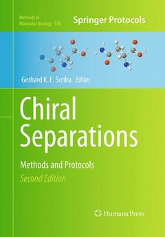 Cover of the book Chiral separations