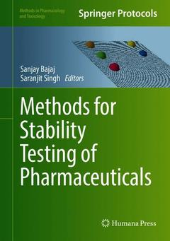 Cover of the book Methods for Stability Testing of Pharmaceuticals