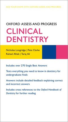 Cover of the book Oxford Assess and Progress: Clinical Dentistry