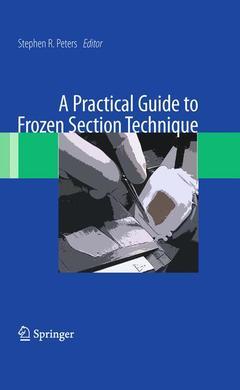 Couverture de l'ouvrage A practical guide to frozen section technique