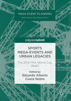 Couverture de l'ouvrage Sports Mega-Events and Urban Legacies
