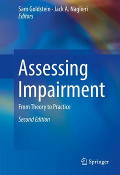 Couverture de l'ouvrage Assessing Impairment