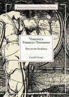 Cover of the book Veronica Forrest-Thomson