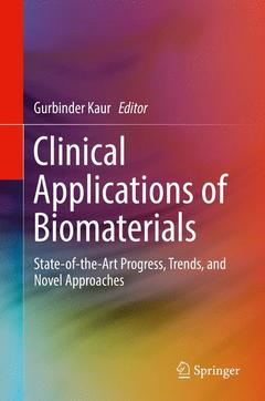 Couverture de l'ouvrage Clinical Applications of Biomaterials