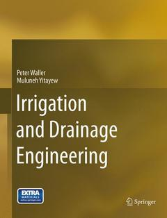 Couverture de l'ouvrage Irrigation and Drainage Engineering