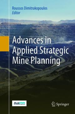 Cover of the book Advances in Applied Strategic Mine Planning