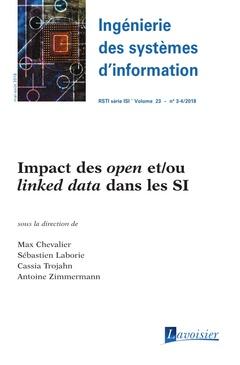 Couverture de l'ouvrage Impact des open et/ou linked data dans les SI