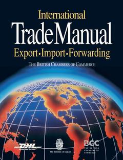 Cover of the book International trade manual (paper)