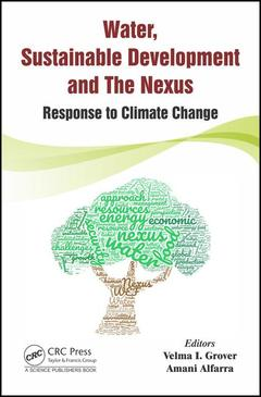 Couverture de l'ouvrage Water, Sustainable Development and the Nexus