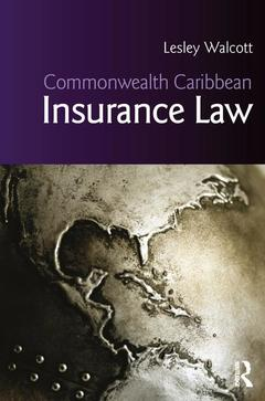 Cover of the book Commonwealth Caribbean Insurance Law