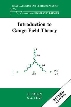 Cover of the book Introduction to Gauge Field Theory Revised Edition