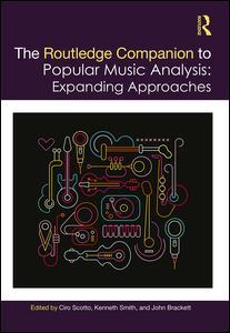 Couverture de l'ouvrage The Routledge Companion to Popular Music Analysis