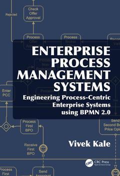 Couverture de l'ouvrage Enterprise Process Management Systems