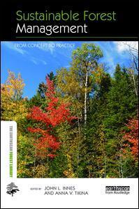 Couverture de l'ouvrage Sustainable Forest Management