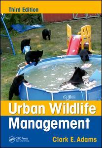 Couverture de l'ouvrage Urban Wildlife Management