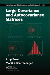 Couverture de l'ouvrage Large Covariance and Autocovariance Matrices