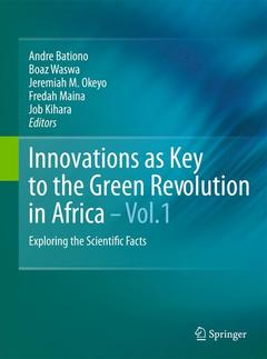 Cover of the book Innovations as key to the green revolution in Africa: exploring the scientific facts (2 Volume set)