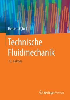 Couverture de l'ouvrage Technische Fluidmechanik