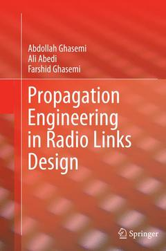 Couverture de l'ouvrage Propagation Engineering in Radio Links Design