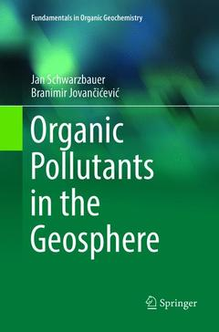 Cover of the book Organic Pollutants in the Geosphere