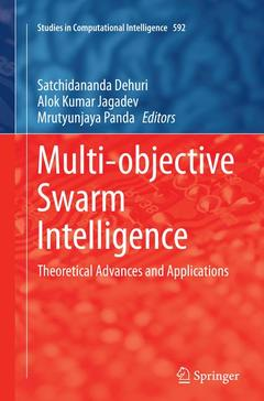 Couverture de l'ouvrage Multi-objective Swarm Intelligence