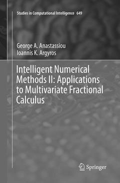 Couverture de l'ouvrage Intelligent Numerical Methods II: Applications to Multivariate Fractional Calculus