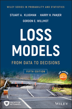 Couverture de l'ouvrage Student Solutions Manual to Accompany Loss Models