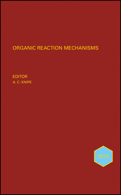 Cover of the book Organic Reaction Mechanisms 2015