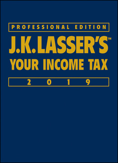 Cover of the book J.K. Lasser′s Your Income Tax 2019