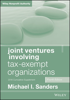 Cover of the book Joint Ventures Involving Tax-Exempt Organizations, 2018 Cumulative Supplement
